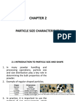 Chapter 2 Particle Size Characterization