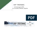 XIII TREFEMAC 2015 Libro Resumenes