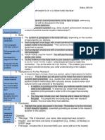 Components Literature Review
