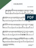 Sheets-Claude Thomain (Niveau Élémentaire) - Coloration