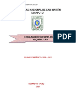 Plan Esterategico Civil Tarapoto
