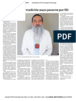 Maestro LMB Entrevista Periodico en SD