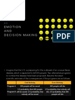 2-3 Emotion and Decision Making