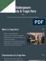 shakespeare- tragedy   tragic hero