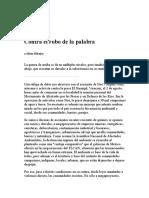 Contra El Robo de La Palabra-Silvia Ribeiro