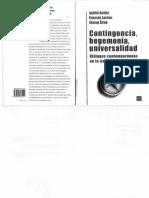 Butler, Laclau y Zizek. Contingencia Hegemonia Universalidad 2000 Ocr