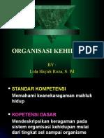 Organization Kehidupan