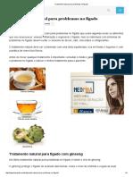 Tratamento Natural Para Problemas No Fígado