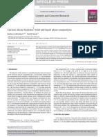 2015 - Barbara Lothenbach - CalciumsilicatehydratesSolidandliquidphasecomposit[Retrieved 2016-03-20]