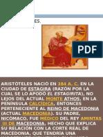 Aristóteles. Exposición.