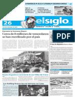 Edicion Impresa El Siglo 26-03-2016
