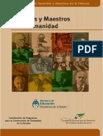Maestras y Maestros de La Humanidad