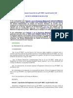 Reglamento de La Ley Del Servicio Civil