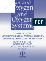 Walter F. Stewart, Stephen S. Woods, Harold Deck Beeson-Safe Use of Oxygen and Oxygen Systems_ Guidelines for Oxygen System Desing, Materials Selection, Operations, Storage, and Transportation (Astm M.pdf
