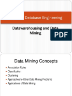 Datawarehousing and Data Mining