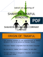 Takaful Presentation