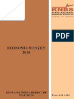Economic Survey 2015-1