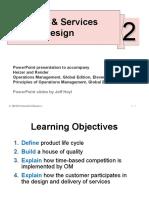Goods & Services Design