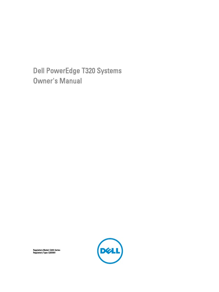Poweredge-t320 Owner's Manual en-us | Ip Address | Usb