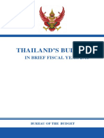 Thailand Budget in Brief
