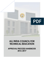 AICTE ApprovalProcessHandbook2016-17