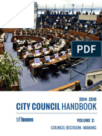 City Council Handbook - Volume 2 (Council Decision-Making)