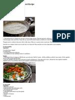 Mughalai Vegetable Biryani Recipe