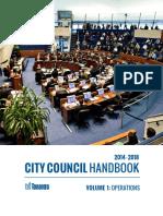 City Council Handbook - Volume 1 (Operations)