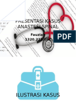 Presentasi Kasus Spinal Anastesi