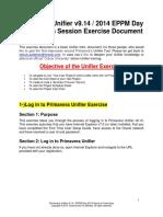 Primavera Unifier Overview Exercises_FY14_en-BDE0