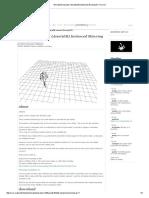 AnimatedCharacter (AssetsDB) Instanced Skinning DX11 _ Vvvv