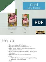School Card GPS Tracker T530:531