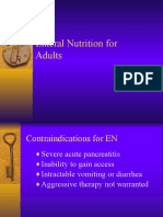 Chapt 5 Enteral Nutrition Administration Issues