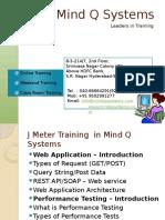 JMeter Training in Hyderabad