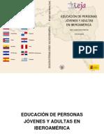 Educacion de Jovenes y Adultos en Iberoamerica