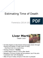 Estimating Time of Death2
