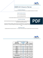 DECEMBER 2015 Quarterly Review
