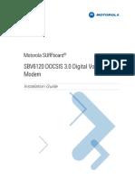 SBV6120 InstallationGuide English 071509