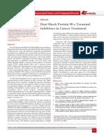 Heat Shock Protein 90 c-Terminal Inhibitors in Cancer Treatment