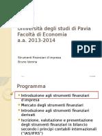 Uni PV - Corso Strumenti Finanziari-AA20132014