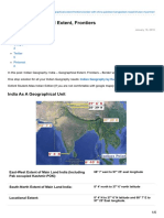Pmfias.com-India Geographical Extent Frontiers