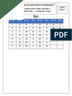 3.Grade 5 Key Paper MCQ1