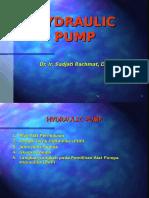 1-5 Hydraulic Pump