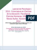 Informe teórico- interpretativo de las consignas escolares y las conductas de sujetos desde la Psicología