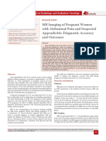 MR Imaging of Pregnant Women with Abdominal Pain and Suspected Appendicitis