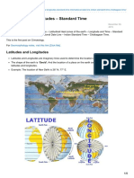 Pmfias.com-Latitudes and Longitudes Standard Time