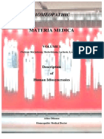 Homeopathic Materia Medica Vol 1