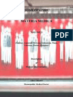 Homeopathic Materia Medica Vol 2