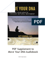 Move Your DNA Supplement to Audiobook