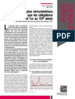 Actions vs or vs Obligations en France Au XXème Siècle